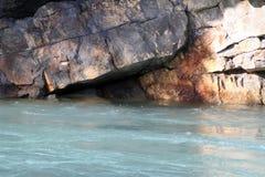 Kananaskisrivier bij weduwe-Maker Stock Fotografie
