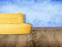 kanapa żółty