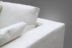 kanapa biel Obraz Stock