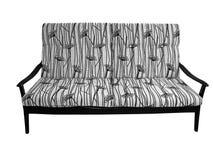 kanapa drewniana Zdjęcie Stock