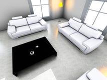 kanapa graniasty obiadowy wewnętrzny żywy izbowy furgon Obraz Royalty Free