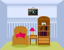 kanapa graniasty obiadowy wewnętrzny żywy izbowy furgon również zwrócić corel ilustracji wektora Zdjęcie Stock