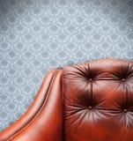 kanapa rocznik Zdjęcie Royalty Free