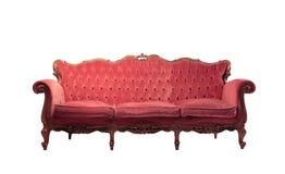 kanapa rocznik Obrazy Royalty Free