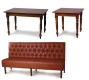 kanapa stół Zdjęcia Stock