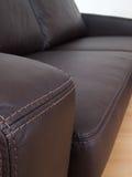 kanapa szczegółu skóry kanapa obraz royalty free