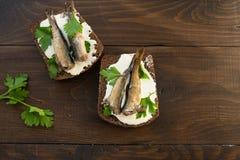 kanapek brzdąc obrazy stock