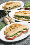 kanapka Fotografia Stock