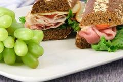 kanapka lunch Zdjęcia Royalty Free