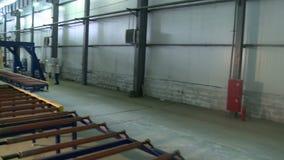 Kanapka panelu zakładu produkcyjnego widok zdjęcie wideo