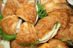 kanapka platter Obraz Royalty Free