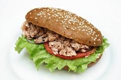kanapka sałatkowy tuńczyk zdjęcie royalty free