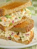 kanapka sałatki z kurczaka Zdjęcie Royalty Free