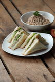 kanapka tuńczyk Fotografia Royalty Free