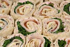 kanapka z indyka okrycie Obraz Royalty Free