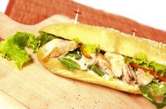 kanapka z kurczakiem Zdjęcia Stock
