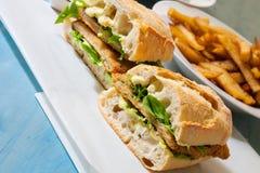 kanapka z kurczakiem Fotografia Royalty Free