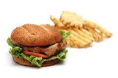 kanapka z kurczakiem Zdjęcie Royalty Free