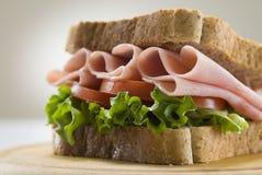 kanapka z szynką Zdjęcia Royalty Free