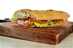 kanapka z szynką Obraz Royalty Free