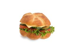 kanapki zdrowy warzywo Obrazy Stock
