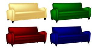 Kanapy krzesło Zdjęcia Stock