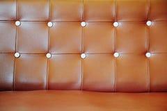 kanapy rzemienny wspaniały tapicerowanie Zdjęcia Royalty Free