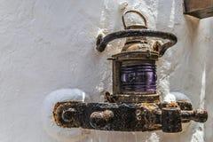 Kanarie openluchtlamp Stock Afbeelding