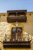 Kanarische Balkone. Lizenzfreie Stockfotografie