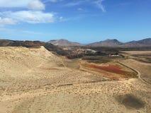 Kanarische Inseln Spanien Landschafts-Fuerteventuras Stockbilder