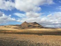 Kanarische Inseln Spanien Landschafts-Fuerteventuras Stockfotografie