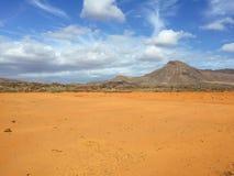 Kanarische Inseln Spanien Landschafts-Fuerteventuras Lizenzfreie Stockbilder