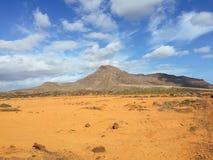Kanarische Inseln Spanien Landschafts-Fuerteventuras Stockfoto