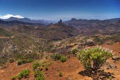 Kanarische Landschaft Lizenzfreies Stockbild