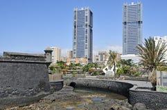 kanarowy Cruz De Wyspa Santa Spain Tenerife Obrazy Royalty Free