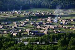 Kanas Burqin Hemu. Eastphoto, tukuchina,  Kanas Burqin Hemu Royalty Free Stock Photo