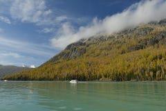 Kanas Lake in Xinjiang China Royalty Free Stock Photos