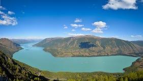 Kanas lake Royalty Free Stock Photo