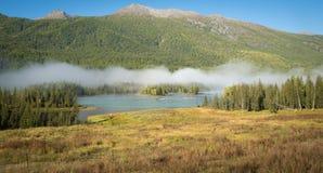 Kanas lake Stock Photos
