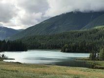 Kanas. The landscape of kanas lake Royalty Free Stock Photo