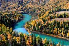Kanas river Stock Photos