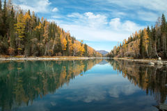 Kanas river Stock Images