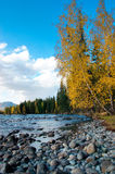 Kanasi river Royalty Free Stock Images