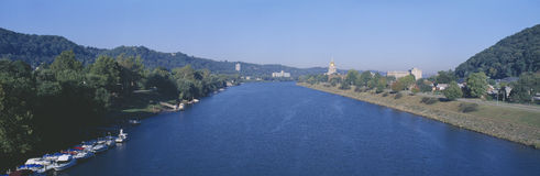 Kanawha River,. Kanawha River in Charleston, West Virginia Stock Photography