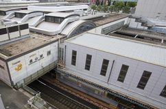 Kanayama JR station in Nagoya, Japan stock photos