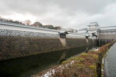 Kanazawa, Япония - 15-ое декабря 2017: Замок Kanazawa Стоковое Изображение RF