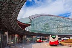 Kanazawa Bus Termninal Stock Image