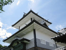 Kanazawa castle defense tower Royalty Free Stock Images