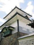 Kanazawa castle defense tower Stock Photos