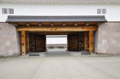 Kanazawa castle. The gate of Kanazawa castle, Japan royalty free stock image